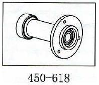 Lagerbock Rotorwelle Geeignet für ALLE 450er wie T-Rex & Co
