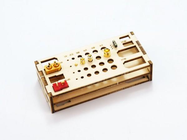Löthilfe und Steckerhalter aus Holz, für alle Lötarbeiten