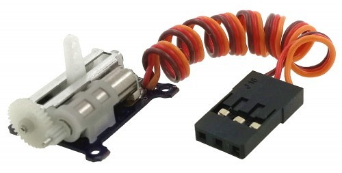 arkai Servo 1,5 g Digi Getriebe links m.JR Stecker