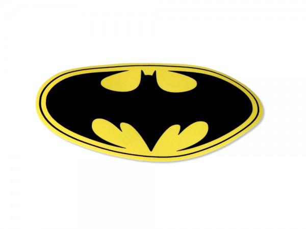 Aufkleber / Decal Bat Man m.Schriftzug 115 * 190 mm