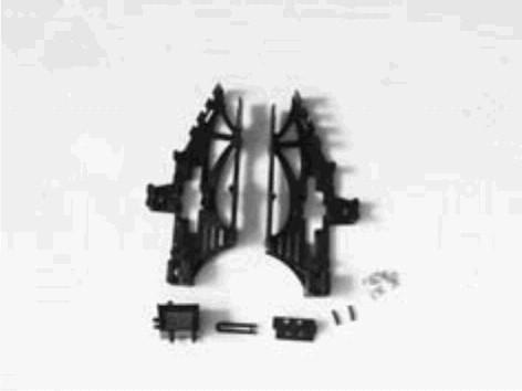 Dynam E-Razor Hauptrahmen-Set
