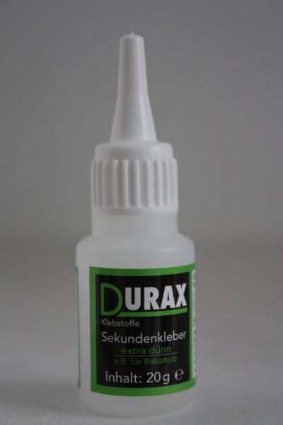 Durax Sekundenkleber, extra dünnflüssig, 20g