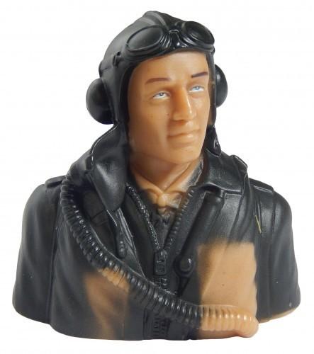 Pilot WWII grün 1:9