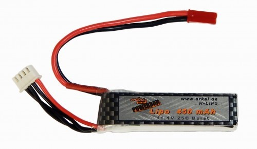 Powerbar Lipo Gensace 450 mAh 3S-11,1V