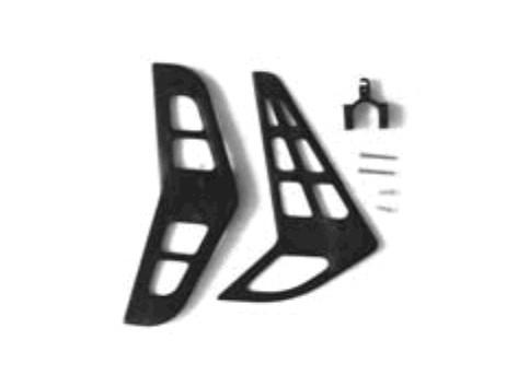 Seiten und Höhenstabilisator - E-Razor & viele 450er wie T-Rex & Co