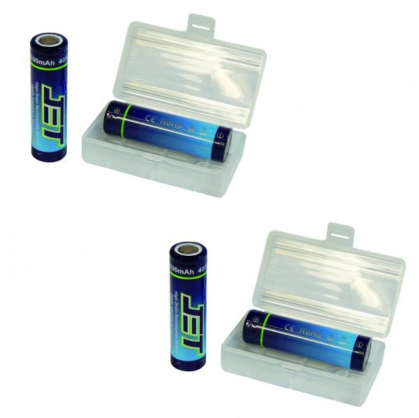 JET 18650 - Batteriebox GRATIS