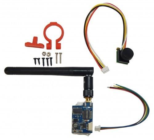 Budget Kamera SET m.5.8 Ghz m. integriertem Sender
