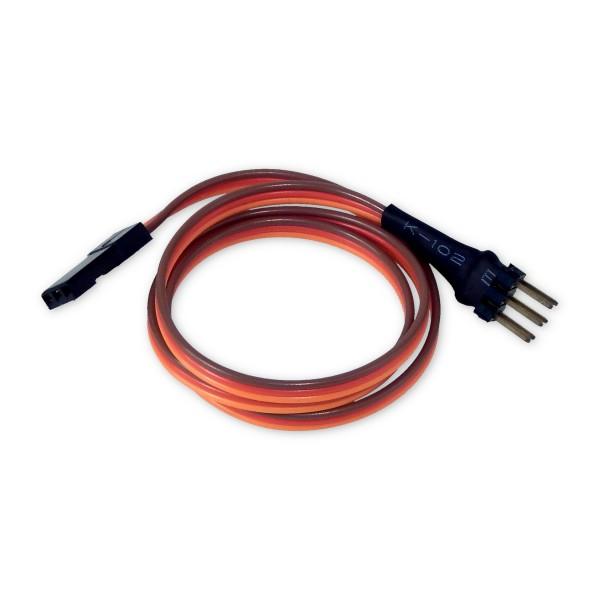Servo-Y-Kabel, 370mm, Y-Stecker