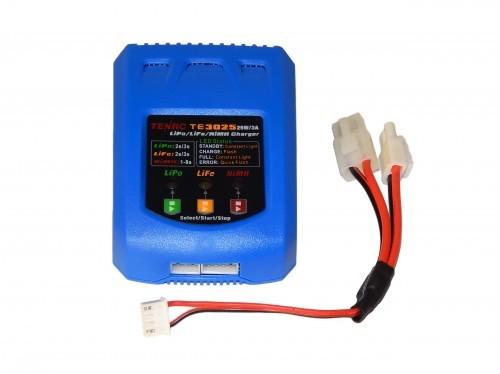 Ladegerät für LiPo LiFe & NiMh m.Tamiya/Minitamiyastecker