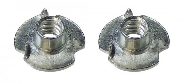 Einschlagmuttern-Set 2 Stk. f. 3mm M3 Schrauben