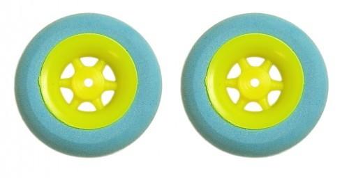 2 Stk. SUPERLEICHTreifen D 30 mm (Gelb Blau)