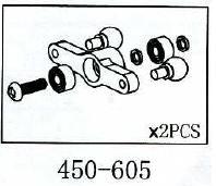 Mischhebel Geeignet für ALLE 450er wie T-Rex & Co