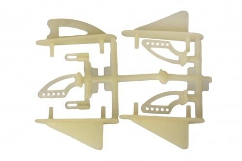 Mehrteiliges Befestigungsset (Ruderhörner & Co)für größere Modell ab 2 Kg Abfluggewicht