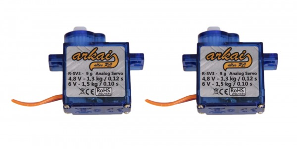 arkai Servo 9 g, 2er Set