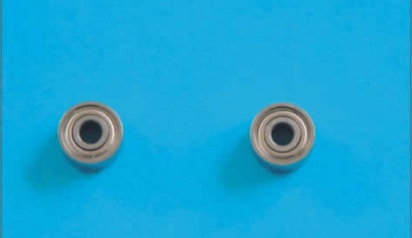 Kugellager 2x6x3mm, 6 Stk. für RC-Modellbau
