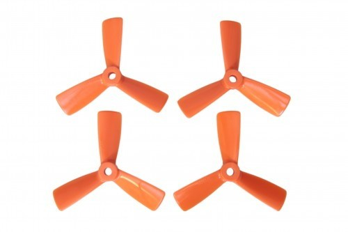 3,5 x 4,5 Dreiblatt-Propeller, 2 x l. u 2 x r.