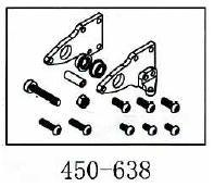 Heckgetriebe Geeignet für ALLE 450er wie T-Rex & Co