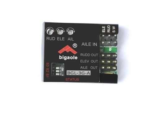 Bigaole BGL 3G-A, Flächengyro, Plug & Play SUPERLEICHT