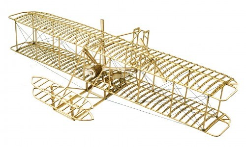 Wright Flyer, Balsa-Mini-Flieger in Holzbox
