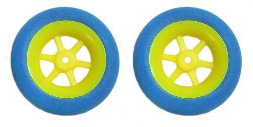 2 STK. SUPERLEICHTreifen 40 mm Durchmesser für Radnaben bis 3 mm
