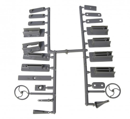 Befestigungsset - 22 Teile Ruderhörner & Co für Minimodelle