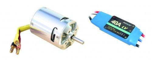 arkai BL-Motor D3045 und 40 A Regler Flycolor
