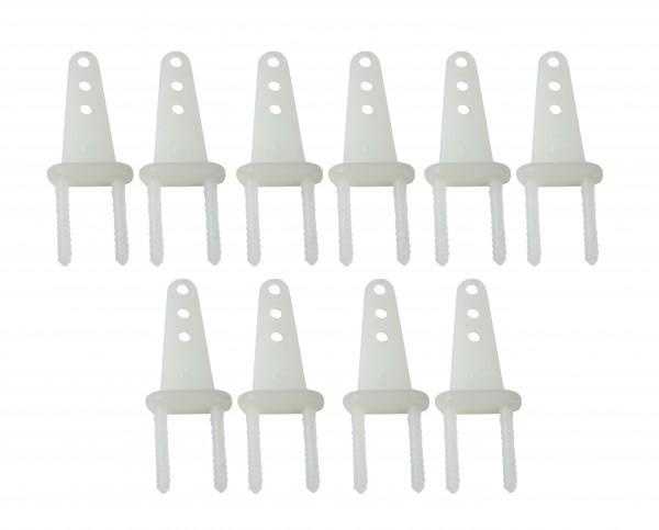 Ruderhorn-Set 8*14 * 22 mm - 5 Paar