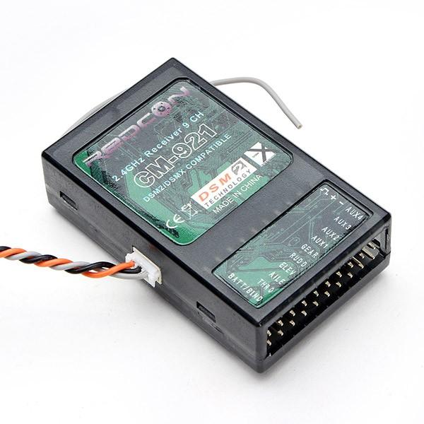 9 Kanal DSM2/DSMX-Satelliten-Empfänger Redcon CM-921