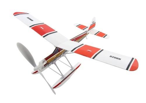 Float Plane Wasserflugzeug als Gummimotormodell