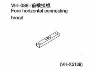 Fore horizontal connectiong broad FÜR ALLE 1:10er RC Cars