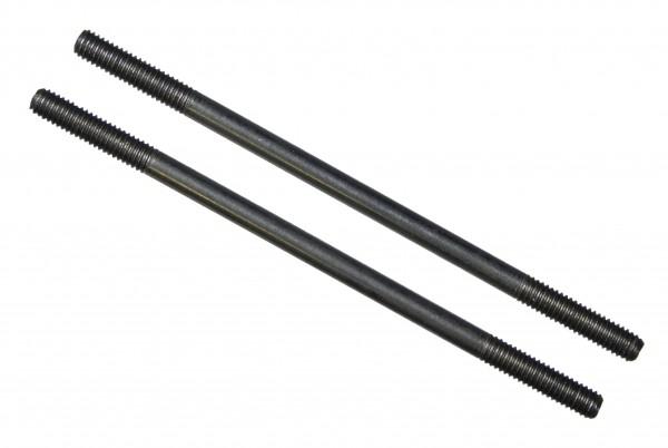 Gestänge für die Querruderanlenkung, 2mm, diverse Längen, 2 Stk.