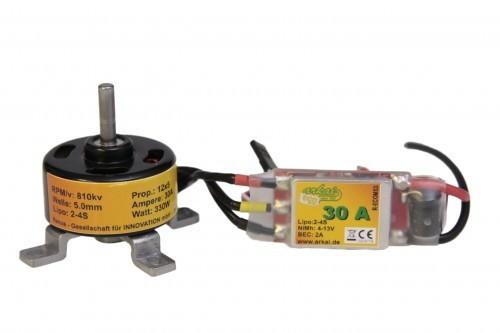 arkai Set Brushless Motor 3508, 810KV, und 30 A Regler