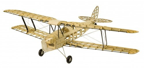 Tiger Moth, 980mm, Balsa-RC-Flugmodel