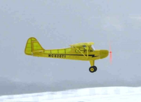 Piper J3, 1200mm, Balsa, KIT