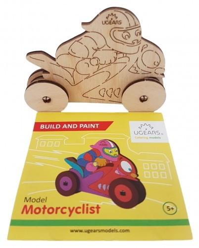 Holz Motorrad zum Bemalen