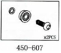 Bundlager Geeignet für ALLE 450er wie T-Rex & Co