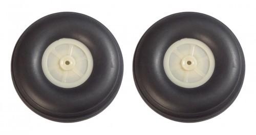 2 STK. SOLIDE Reifen Aber NUR 53g - 127 mm Durchmesser