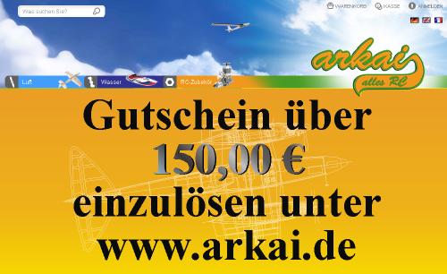 arkai GUTSCHEIN 150 EURO