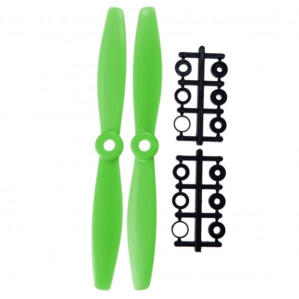 """Propellerblätter 6x4,5"""", Grün, Orange oder Gelb, 2er Set (CW&CCW/R&L)"""