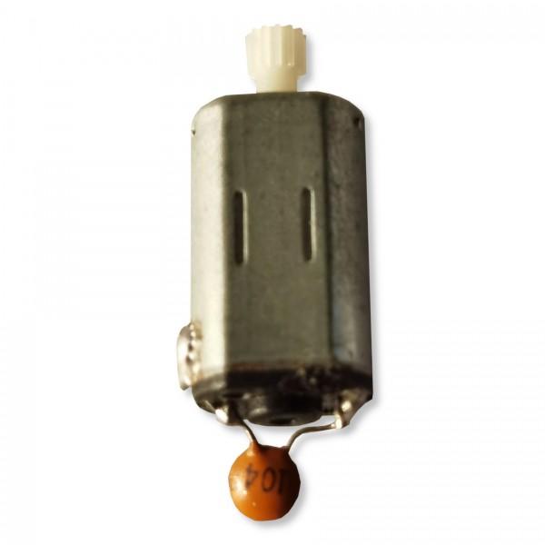 Mini-Brushed-Motor fertig vorentstört m. Zahnrad