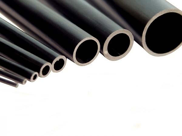 Carbonrohr/Tube verschiedene Durchmesser, 200mm Länge, 5er Pack