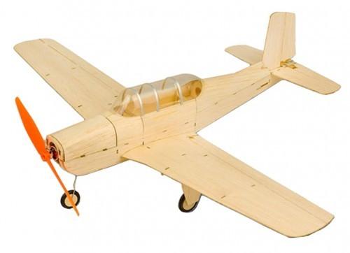 Beechcraft T34 Mentor, Micro-BalsaKIT, 470mm