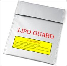 Lipo Guard/Safe, Tasche, 18x23cm