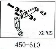 Scherarme Geeignet für ALLE 450er wie T-Rex & Co