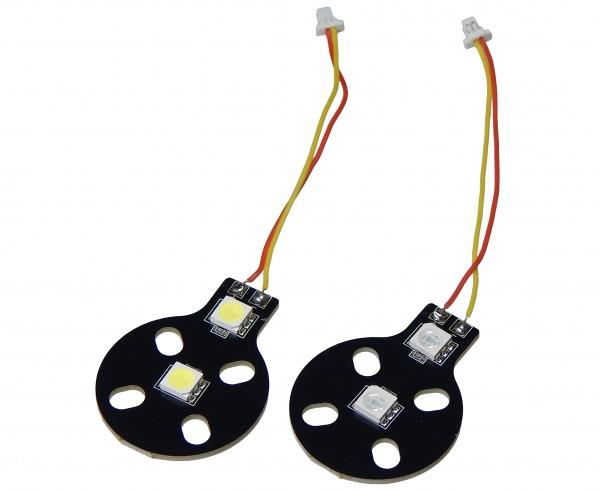 weiß/rotes LEDSet für Flugzeuge & Drohnen