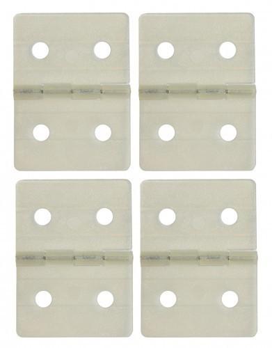 Ruderscharnier Nylon 27x36mm (4 St.)