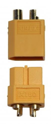 Hochstrom Stecker XT60, 1x Stecker u. 1x Buchse