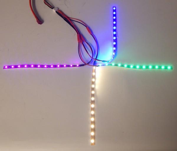 4-Achsen LED Set für Flugzeuge & Drohnen