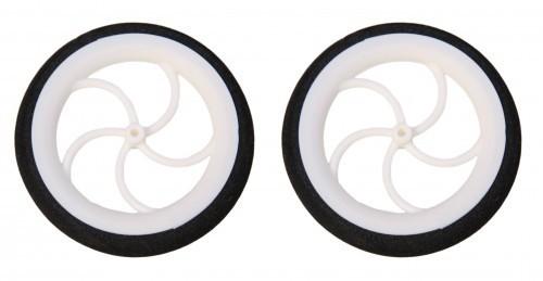 2 STK. SUPERLEICHTreifen 60 mm Durchmesser für Radnaben bis 2 mm