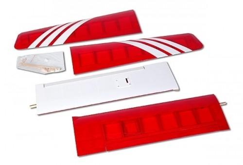 2600 mm TUNINGflügel für ALLE Selbstbauflieger oder Amigo I,II,III & IV - mit Querruder/Lande-/Wölbk